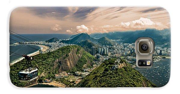 Rio De Janeiro Overlook Galaxy S6 Case