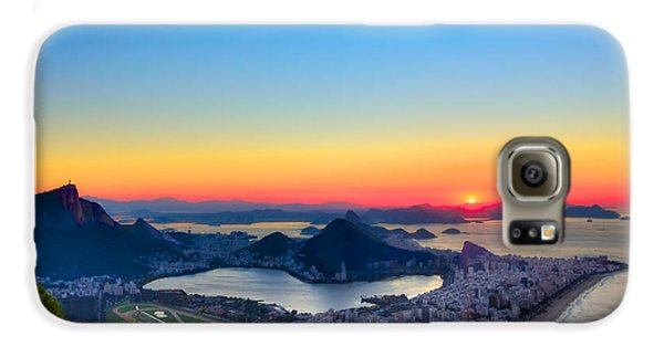Rio Sunrise Galaxy S6 Case by Kim Wilson