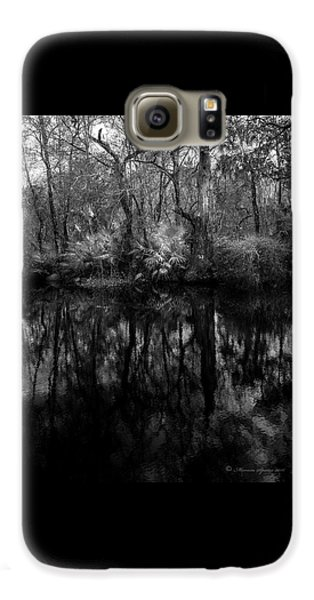 River Bank Palmetto Galaxy S6 Case by Marvin Spates