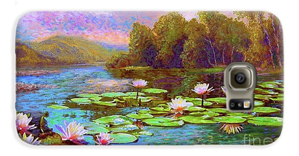 The Wonder Of Water Lilies Galaxy S6 Case
