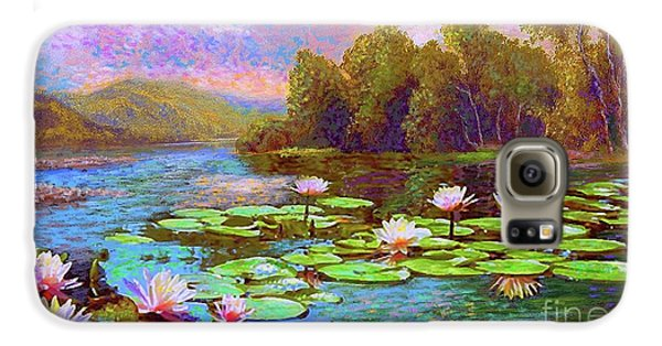 Lily Galaxy S6 Case - The Wonder Of Water Lilies by Jane Small
