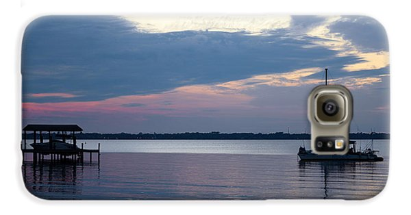 Galaxy S6 Case featuring the photograph River Sunset by Anthony Baatz