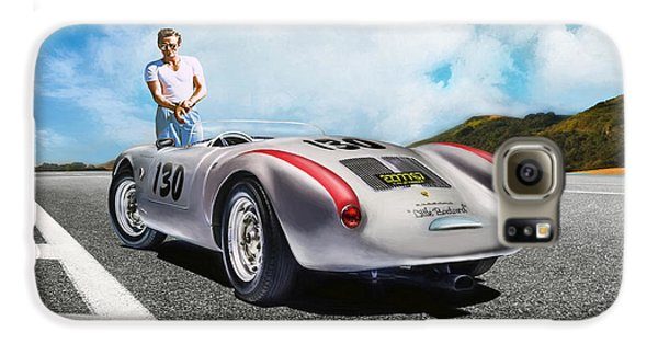 James Dean Galaxy S6 Case - Road To Eternity by Peter Chilelli