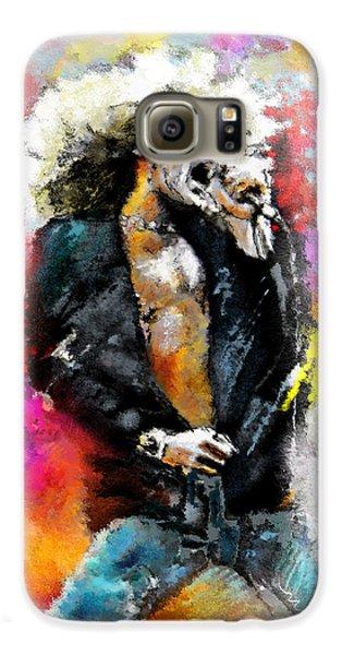Robert Plant Galaxy S6 Case - Robert Plant 03 by Miki De Goodaboom