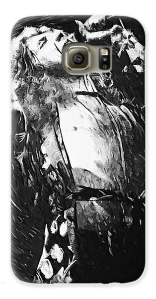 Robert Plant Galaxy S6 Case - Robert Plant by Taylan Apukovska