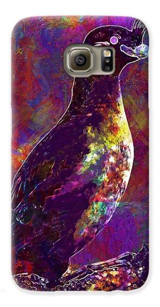 Rock Bird Auklet Crested Birds  Galaxy S6 Case
