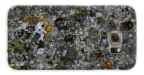 Rock Lichen Surface Galaxy S6 Case by Nareeta Martin