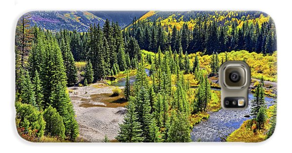 Rockies And Aspens - Colorful Colorado - Telluride Galaxy S6 Case