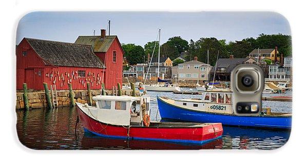 Otter Galaxy S6 Case - Rockport Harbor 2 by Emmanuel Panagiotakis