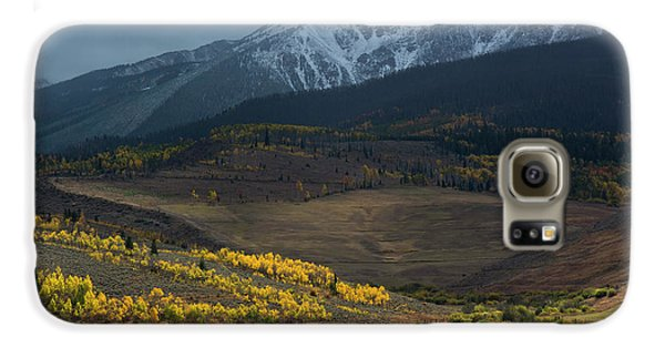Galaxy S6 Case featuring the photograph Rocky Mountain Horses by Aaron Spong