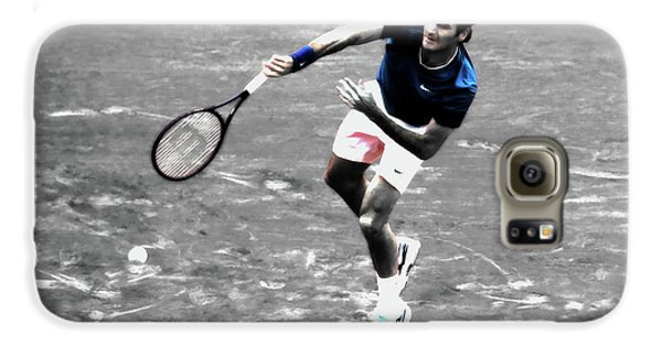 Venus Williams Galaxy S6 Case - Roger Federer 4v by Brian Reaves