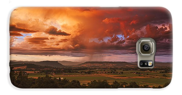 Rogue Valley Sunset Galaxy S6 Case