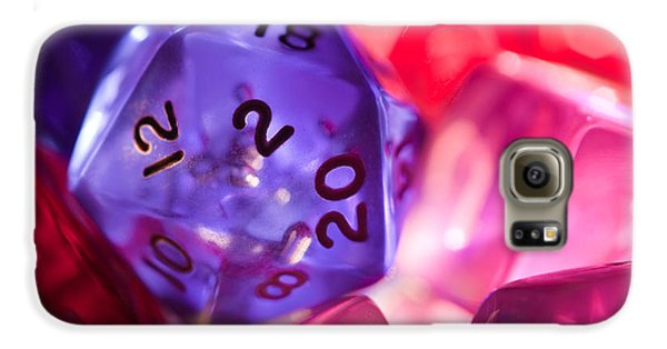 Role-playing D20 Dice Galaxy S6 Case by Marc Garrido