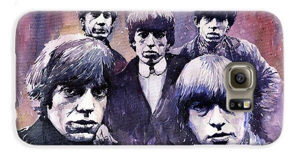 Rolling Stone Magazine Galaxy S6 Case - Rolling Stones  by Yuriy Shevchuk
