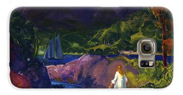 Boy George Galaxy S6 Case - Romance Of Autumn by George Bellows