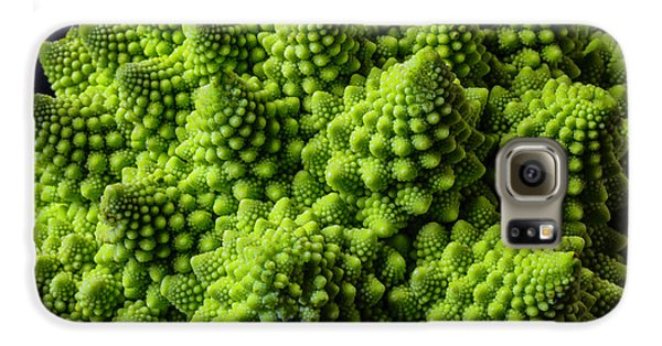 Romanesco Broccoli Galaxy S6 Case by Garry Gay