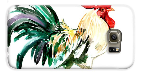 Rooster Galaxy S6 Case by Suren Nersisyan