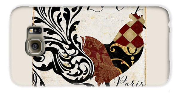 Roosters Of Paris II Galaxy S6 Case by Mindy Sommers