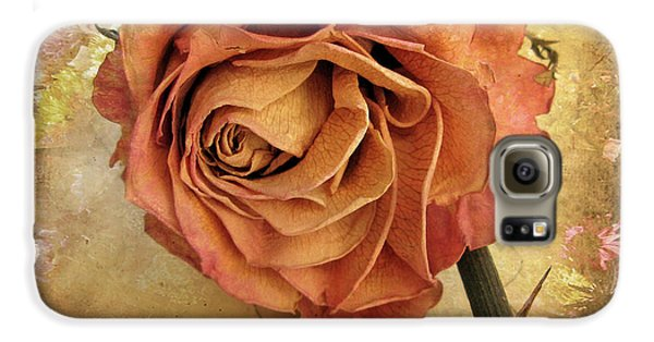 Rose Galaxy S6 Case - Rose  by Jessica Jenney