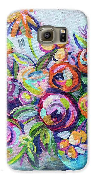 Roses And Kumquats Galaxy S6 Case by Kristin Whitney