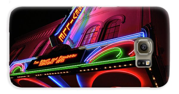 Roseville Theater Neon Sign Galaxy S6 Case