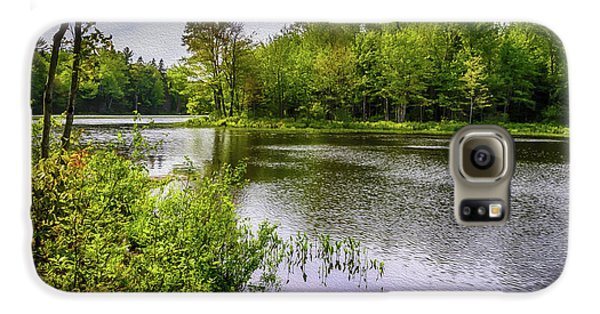 Galaxy S6 Case featuring the photograph Round The Bend In Oil 36 by Mark Myhaver