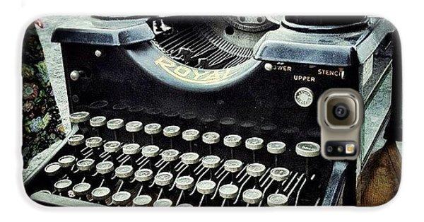 Royal Typewriter Galaxy S6 Case