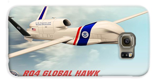 Rq4 Global Hawk Drone United States Galaxy S6 Case by John Wills