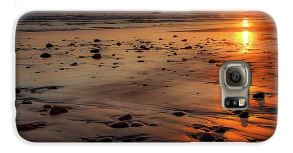 Ruby Beach Sunset Galaxy S6 Case by David Chandler