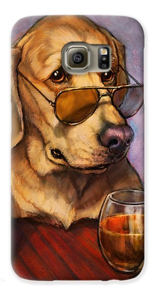 Ruff Whiskey Galaxy S6 Case by Sean ODaniels