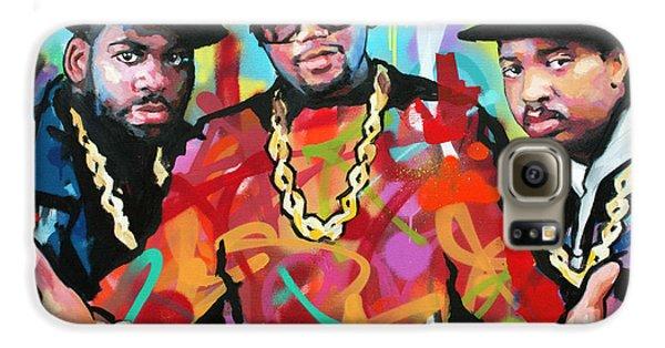 Jay Z Galaxy S6 Case - Run Dmc by Richard Day