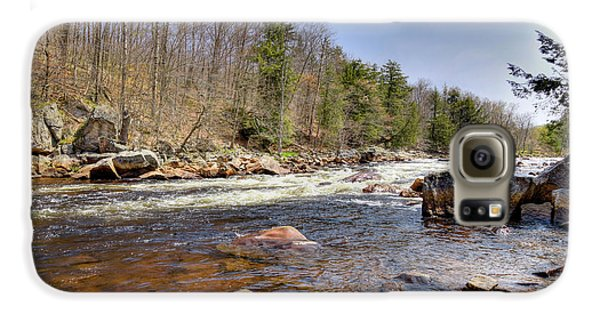 Galaxy S6 Case featuring the photograph Rushing Waters Of The Moose River by David Patterson