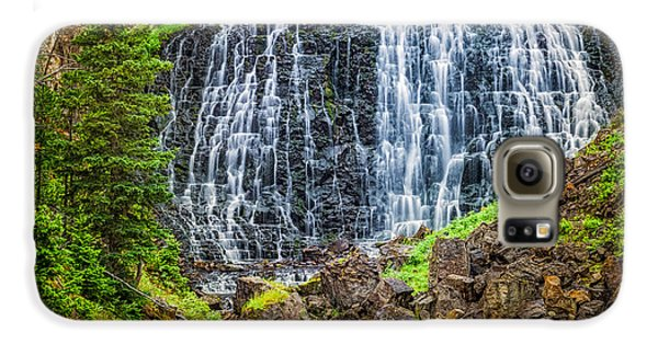 Galaxy S6 Case featuring the photograph Rustic Falls  by Rikk Flohr