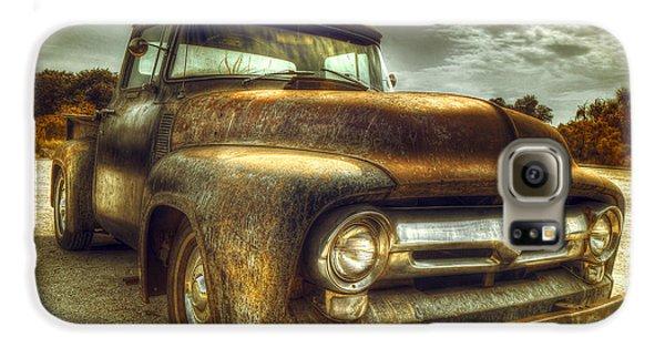 Truck Galaxy S6 Case - Rusty Truck by Mal Bray
