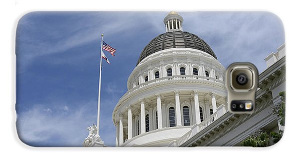 Sacramento Capitol Building Galaxy S6 Case