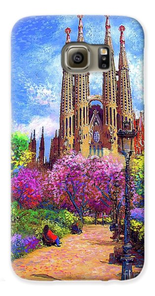 Sagrada Familia And Park,barcelona Galaxy S6 Case