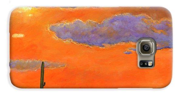 Saguaro Sunset Galaxy S6 Case by Johnathan Harris