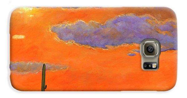 Desert Galaxy S6 Case - Saguaro Sunset by Johnathan Harris