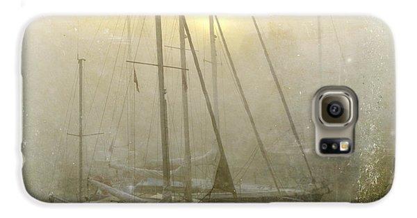 Boat Galaxy S6 Case - Sailboats In Honfleur. Normandy. France by Bernard Jaubert