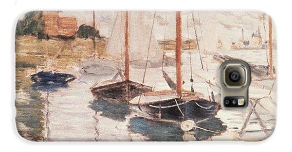 Sailboats On The Seine Galaxy S6 Case