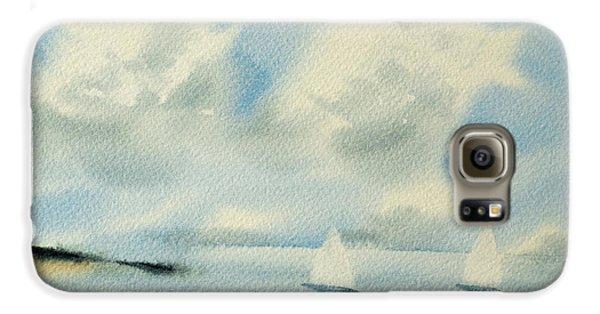 Sailing Into A Calm Anchorage Galaxy S6 Case