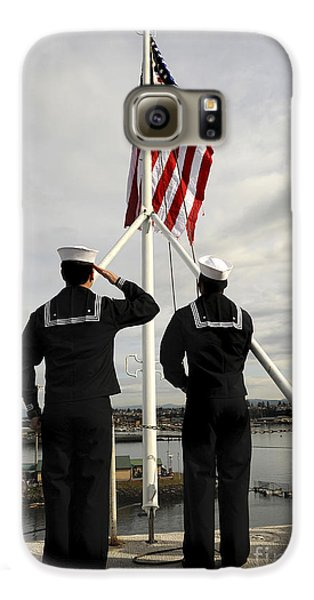 Sailors Raise The National Ensign Galaxy S6 Case