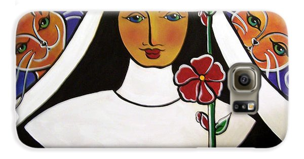 Saint Gertrude Of Nivelles Galaxy S6 Case