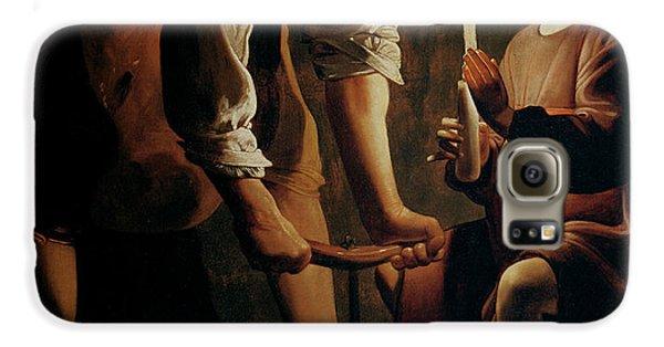 Boy George Galaxy S6 Case - Saint Joseph The Carpenter  by Georges de la Tour