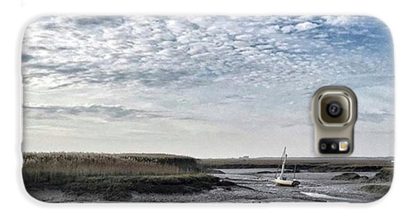 Beautiful Galaxy S6 Case - Salt Marsh And Creek, Brancaster by John Edwards