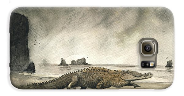 Saltwater Crocodile Galaxy S6 Case