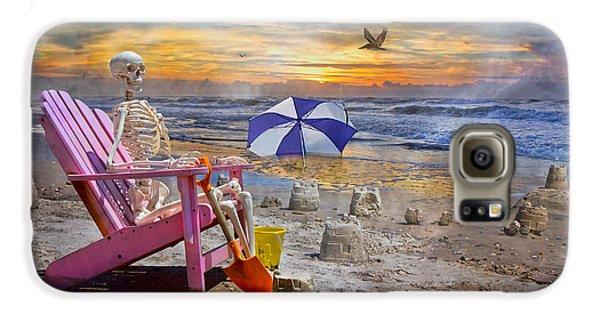 Sam's  Sandcastles Galaxy S6 Case by Betsy Knapp
