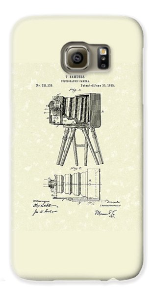 Samuels Photographic Camera 1885 Patent Art Galaxy S6 Case