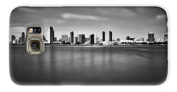 San Diego Skyline - Black And White Galaxy S6 Case
