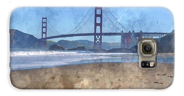 San Francisco Golden Gate Bridge In California Galaxy S6 Case